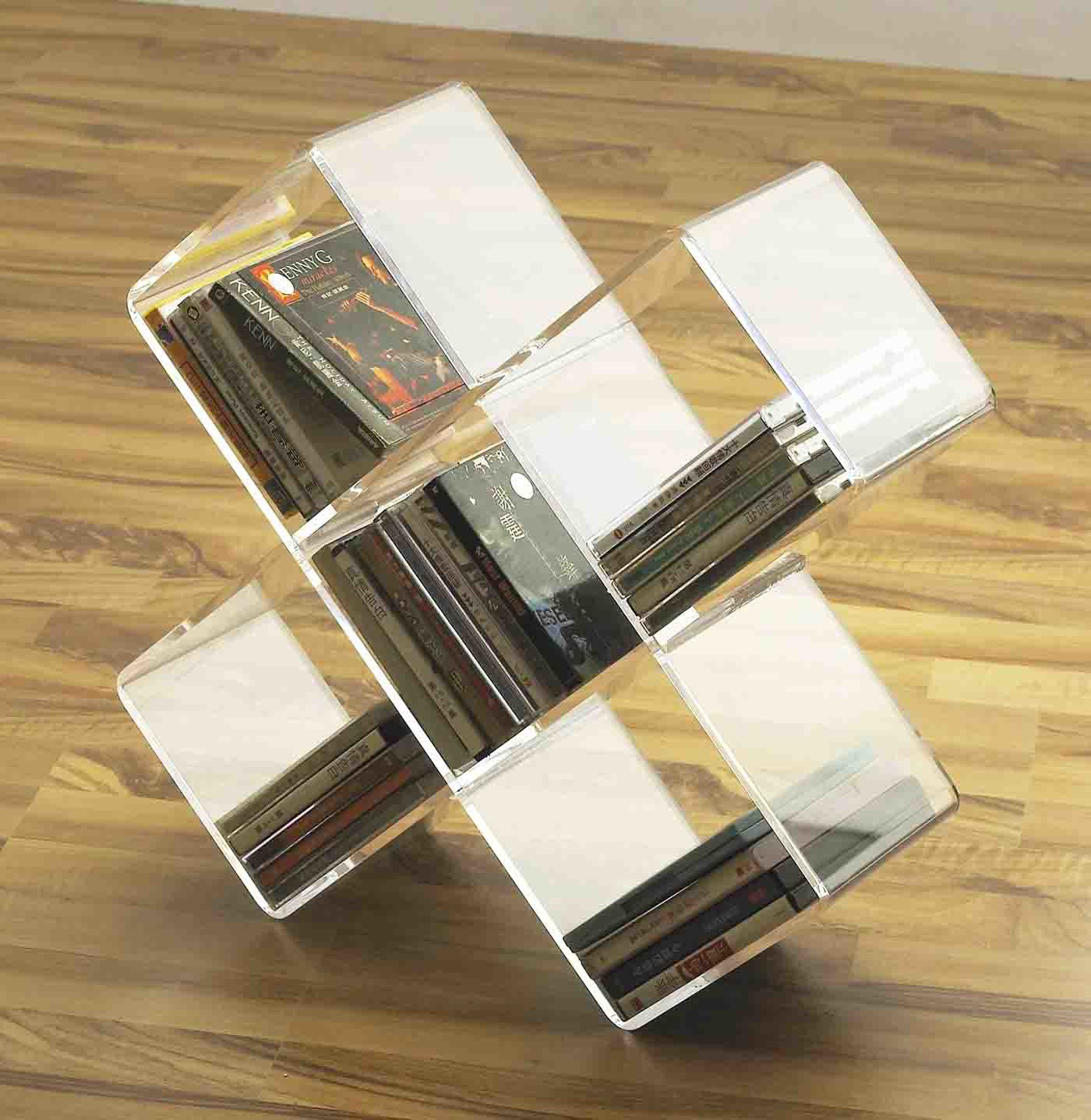 China Acrylic Floor Standing CD Rack(FAY-A08) - China CD ...