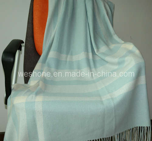 100% Knitted Cashmere Throw (Cmt-0901078)