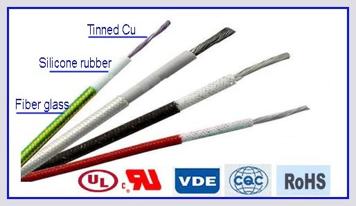 VDE Approved Silicone Rubber Electric Wire for Electric Appliance