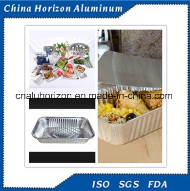 Aluminium / Aluminum Foil Food Container for Freezing