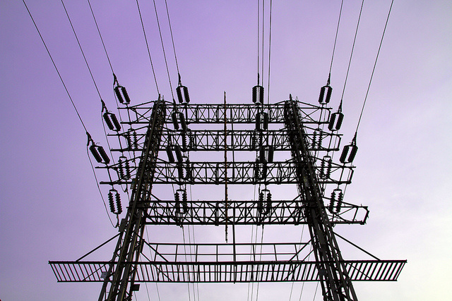 Steel Substation Structure Framework for Power
