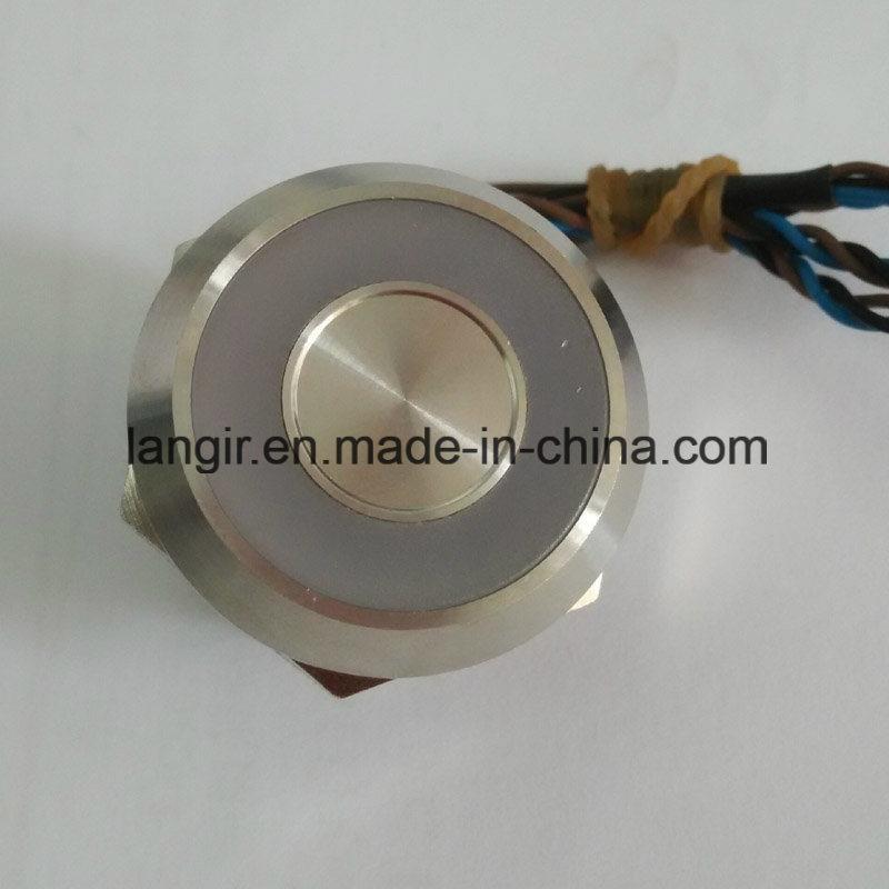 25mm Piezo Swith with Large Ring Illumination IP68 Waterproof