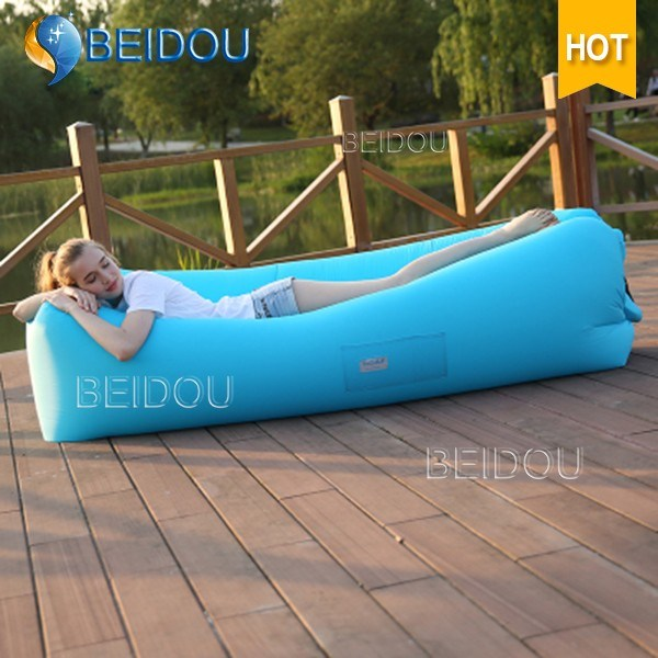 2017 New Products Air Chair Lazy Sleeping Bag Inflatable Sofa