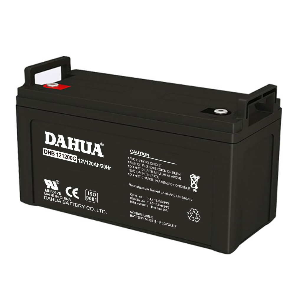 Dahua 12V 120ah Gel Solar Battery for Solar Systems