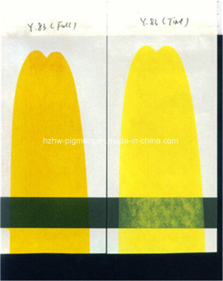 Organic Pigment Fast Yellow Hrz (C. I. P. Y83)