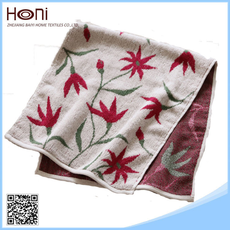 High Quality Jacquard Cotton Towel (Model No: FT101201)