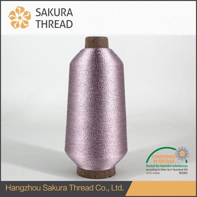 Gold/Silver Mh Type Metallic Thread for Embroidery or Knitting