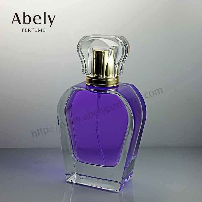 Designer Shape 100ml Glass Bottle Perfume for Female