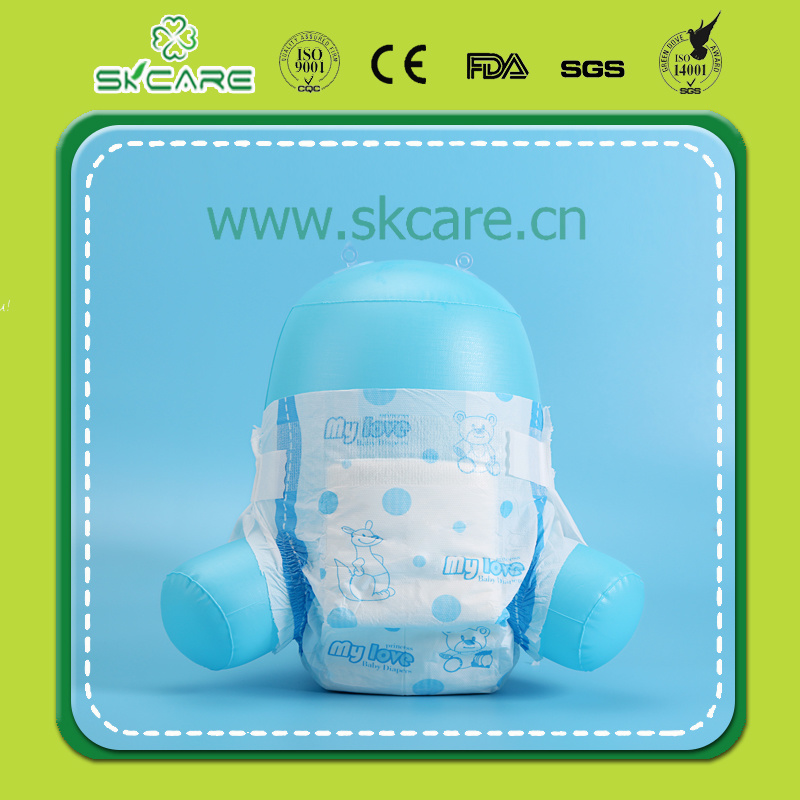 2016 Best Selling Easy Disposable Cotton Baby Diaper/Nappy