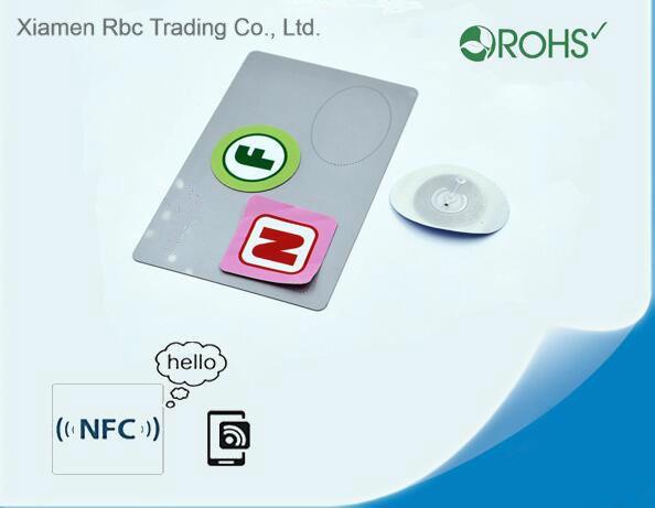 Quality Logo Printing Ntag 215/216 NFC Inlay RFID Tag Labels