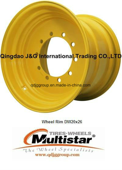 Dw21*32 Steel Rim/Wheels for Agricultural Farm Machinery