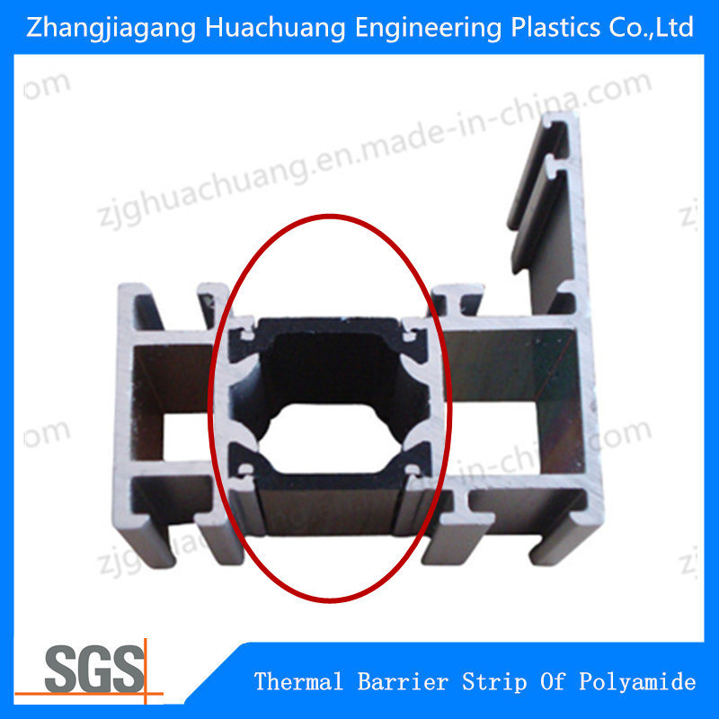 C Shape Polyamide Heat Broken Material for Aluminium Window 18.6 mm