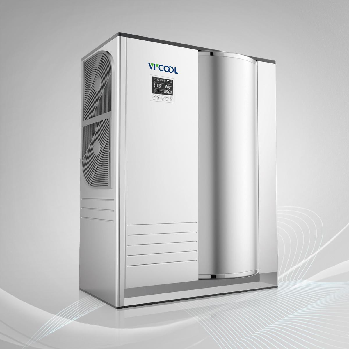 Air to Water Heat Pump Water Heater Monobloc Type