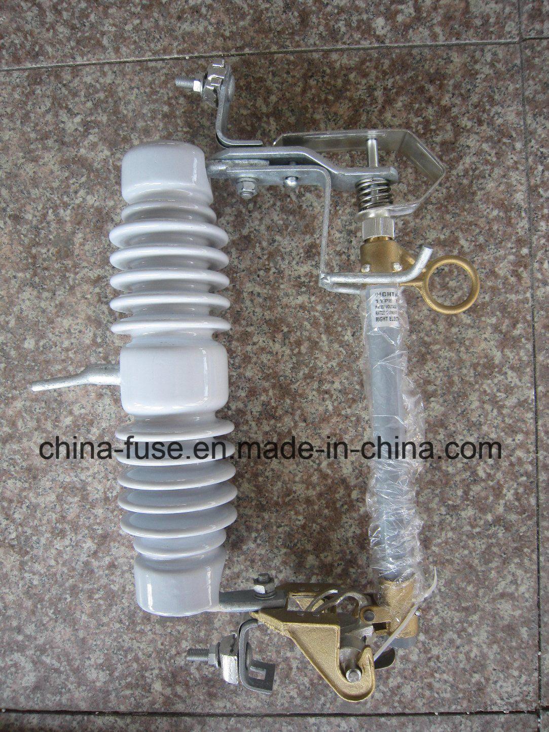 Porcelain Fuse Cutout, Drop out Fuse 24kv 100A