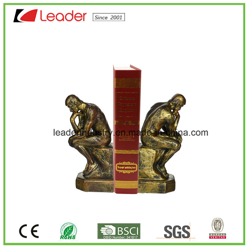 Polyresin Seahorse Sculpture Bookends for Home and Table Decoration