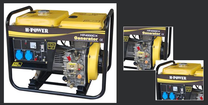Portable Diesel Generators/ Open Type