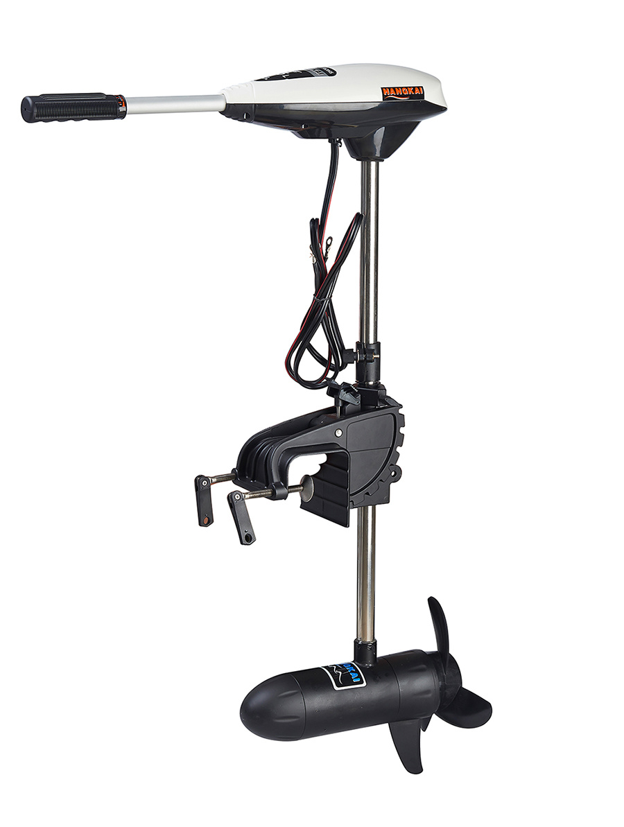New 65 Pound 12V DC Thrust Boat Outboard Trolling Motor Electric