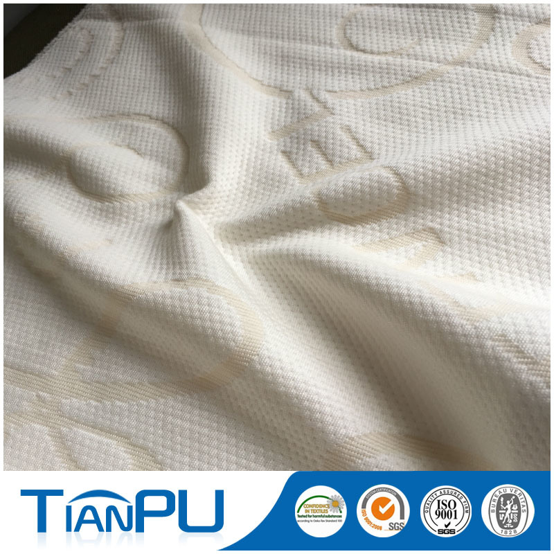 St-Tp34 Tencel Polyester Knitted Fabric Factory Direct Fabric Mattress Fabric