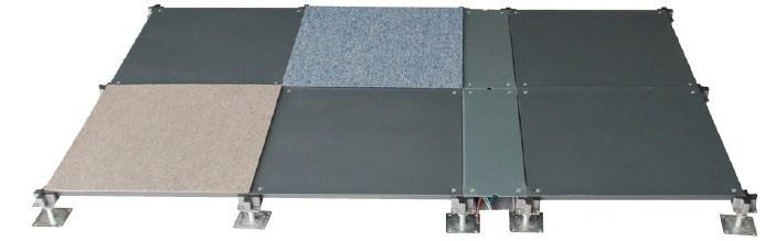 Ceramic Finish Steel Peforated Raised Access Floor
