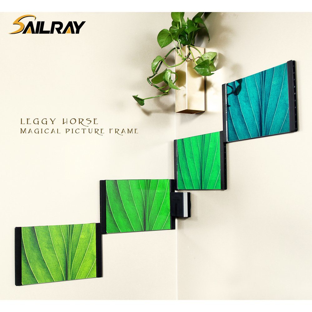 """4""""*6""""Leggy Horse New Style Acrylic PU Creative Photo Frame/Picture Frame with Magical Moudle"""