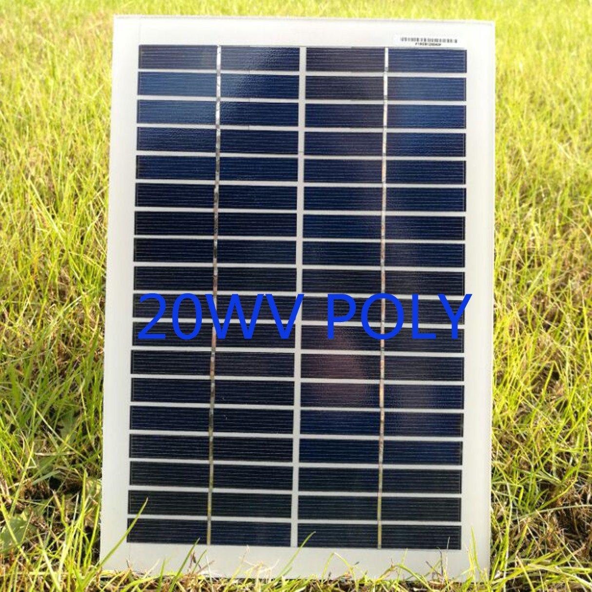 30W High Efficiency Solar Panel for Street Lighting