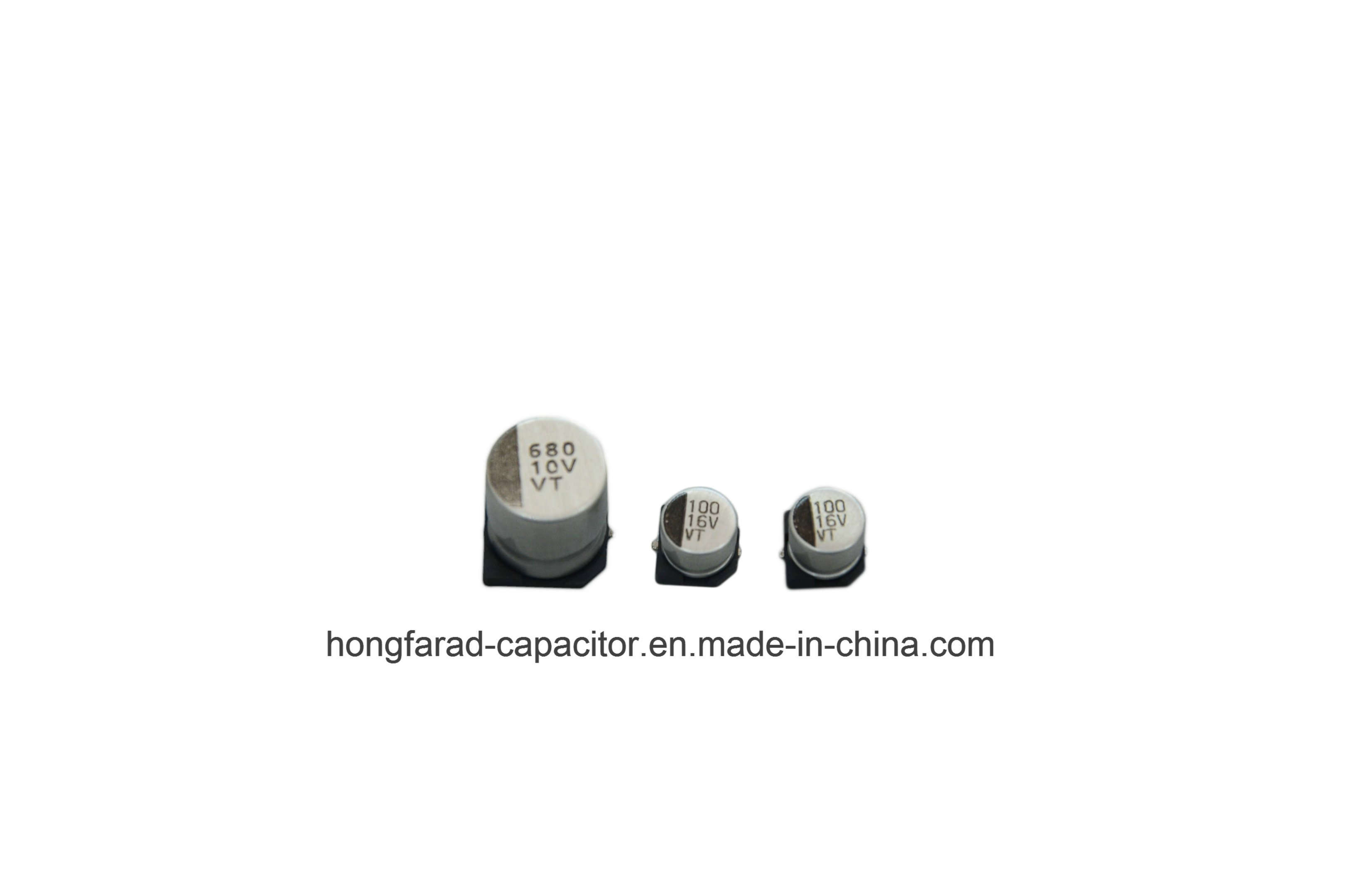 Vt 1000h at 105c SMD Aluminum Electrolytic Capacitor