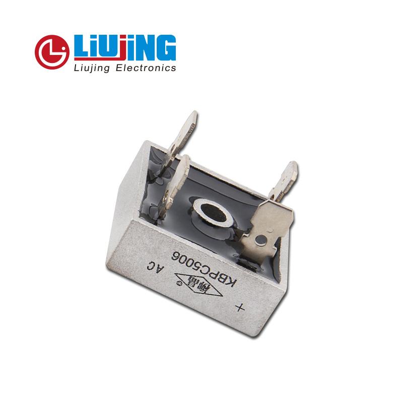 Kbpc5006 50A 600V Single Phase Bridge Rectifiers