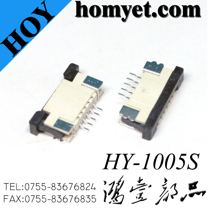 1.0mm Pitch 5p FPC/FFC Connector
