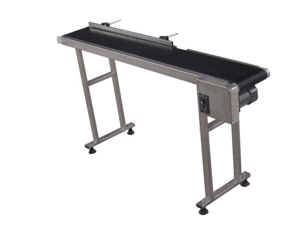 Automatic Production Line Adjustable PVC Belt Conveyor for Inkjet Printer