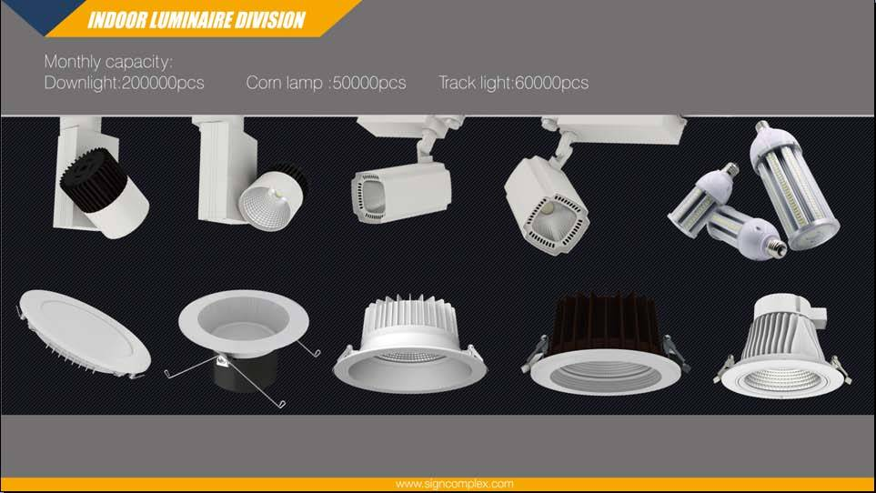 100lm/W CRI80 CRI90 20W 30W 40W Gimble COB LED Downlight with 130mm Cut out