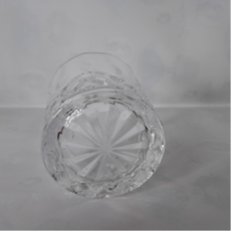 220ml Beautifully Designed Glass Cup