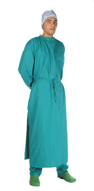 100% Autoclavable Washable Reusable Medical Surgical Gown