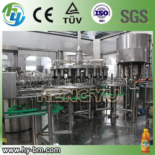 Fruit Juice Filling 3-in-1 Machine for Mango, Hawthorn, Strawberry Beverage Drinks