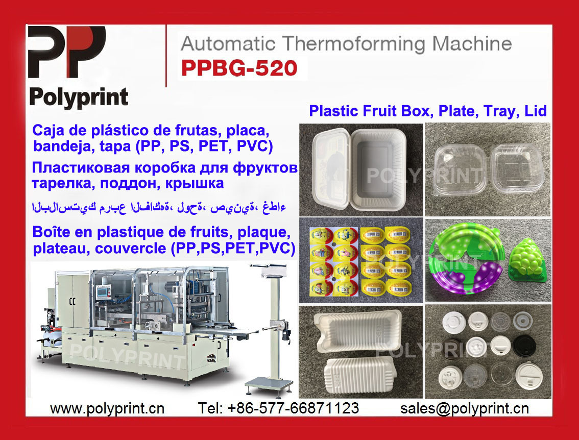 PP Lid Making Machine Thermoforming Machine