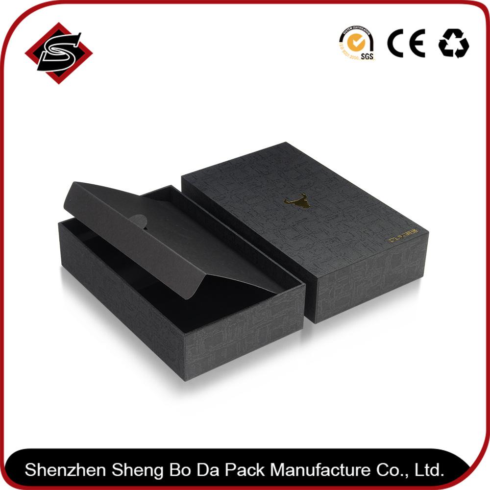 Custom Hot Stamping Gift Box Paper Jewelry Cardboard Packaging