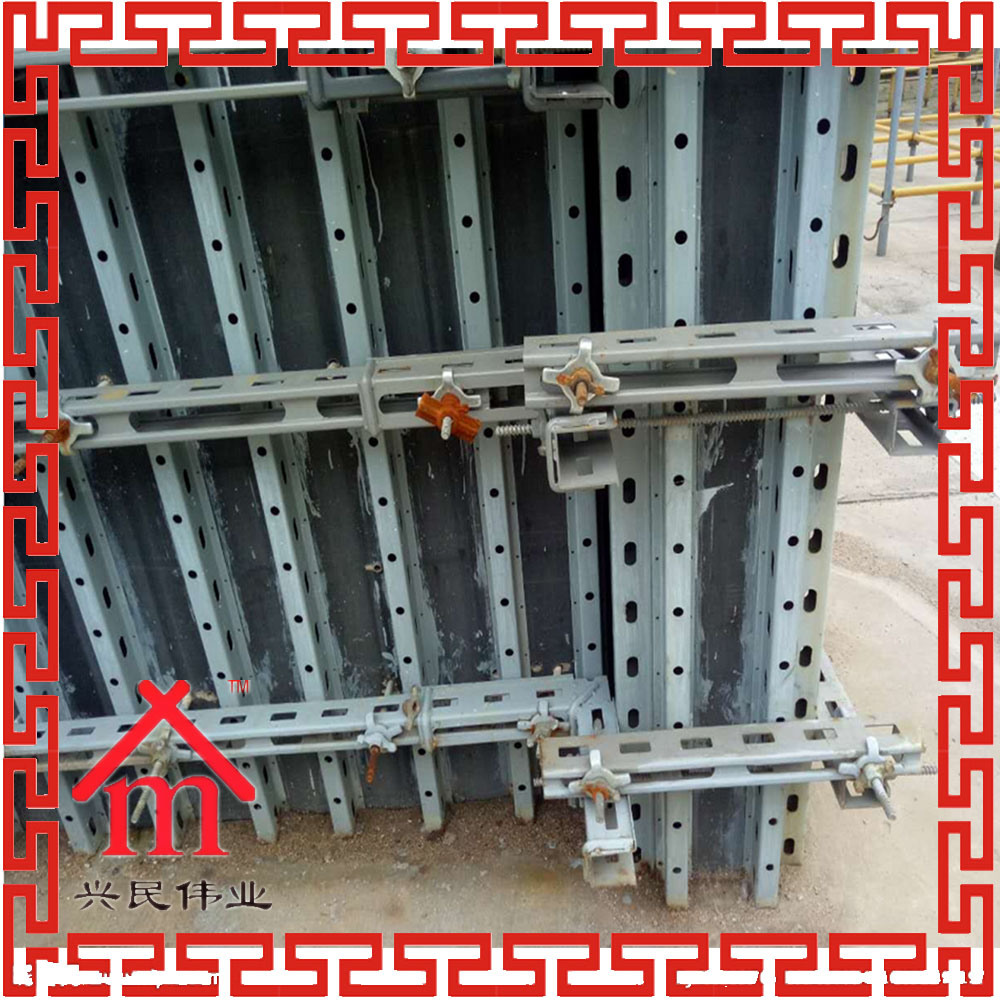 Q235 Wall Formwork System Concrete Forming System Widely Export Southeast Asia