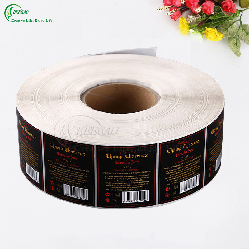 Self Adhesive Label in Roll (KG-PL007)