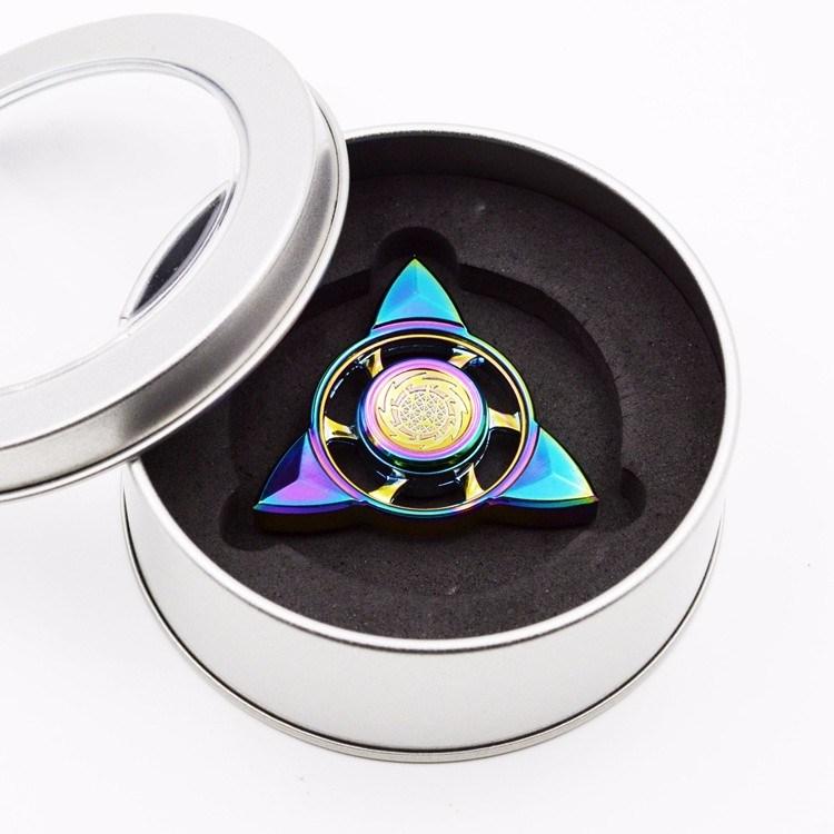 New Design Colorful Star Shape Fidget Spinner