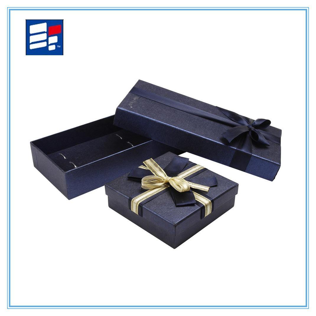 Custom Luxury Folding Paper Gift Box with Logo Print