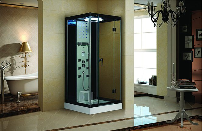 Complete Sauna Steam Steam Room with Touch Screen Control Panel