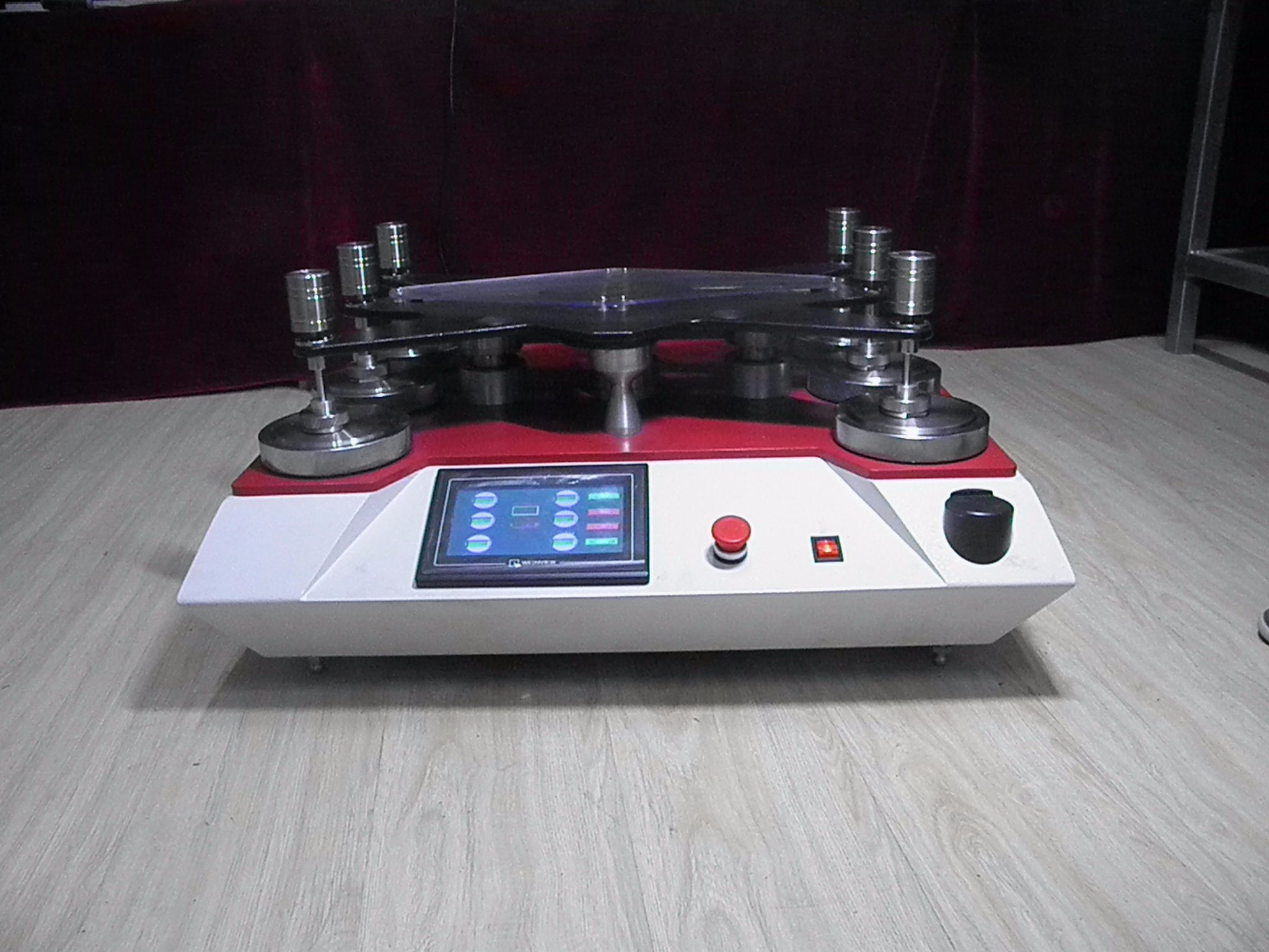 Martindale Abrasion Tester with 8 Heads