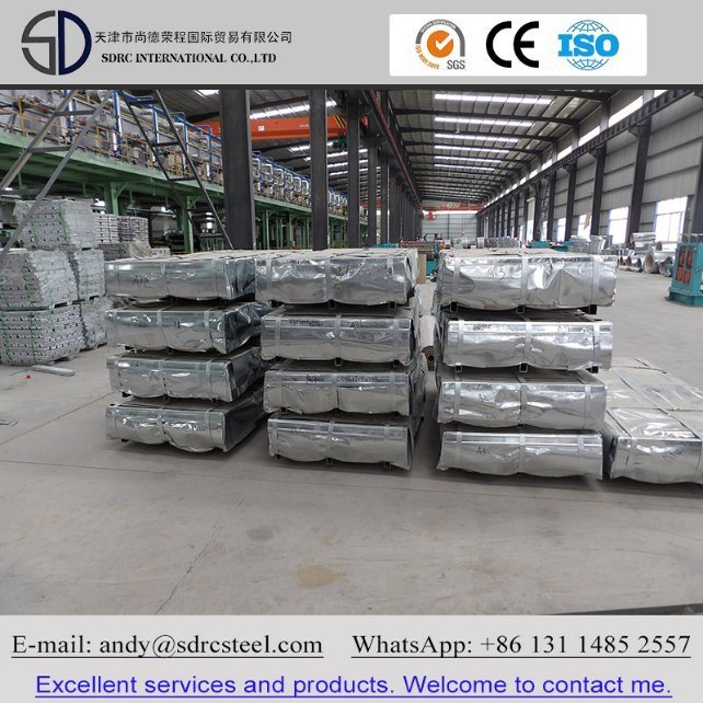 Dx51d SGCC Zinc Coating Hot Dipped Galvanized Steel Plate