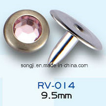 Factory Customized Different Sizes Round Metal Rivets for Garment Accessories