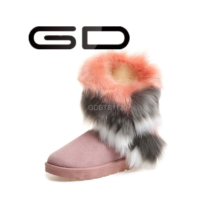 Factory Wholesale Cheap Warm Polo Snow Boots for Ladies