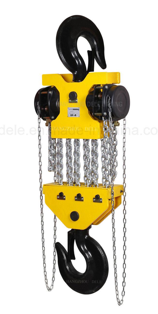 Factory Sale of 30ton Chain Hoist Crane