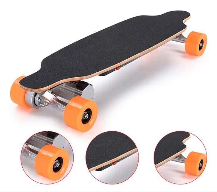 Smartek 4 Wheels Electric Skateboard Scooter Patinete Electrico with Remote Control S-019