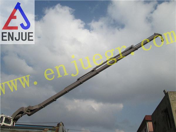 Factory Testing of 20t4m Telescopic Ship Crane Vessel Crane