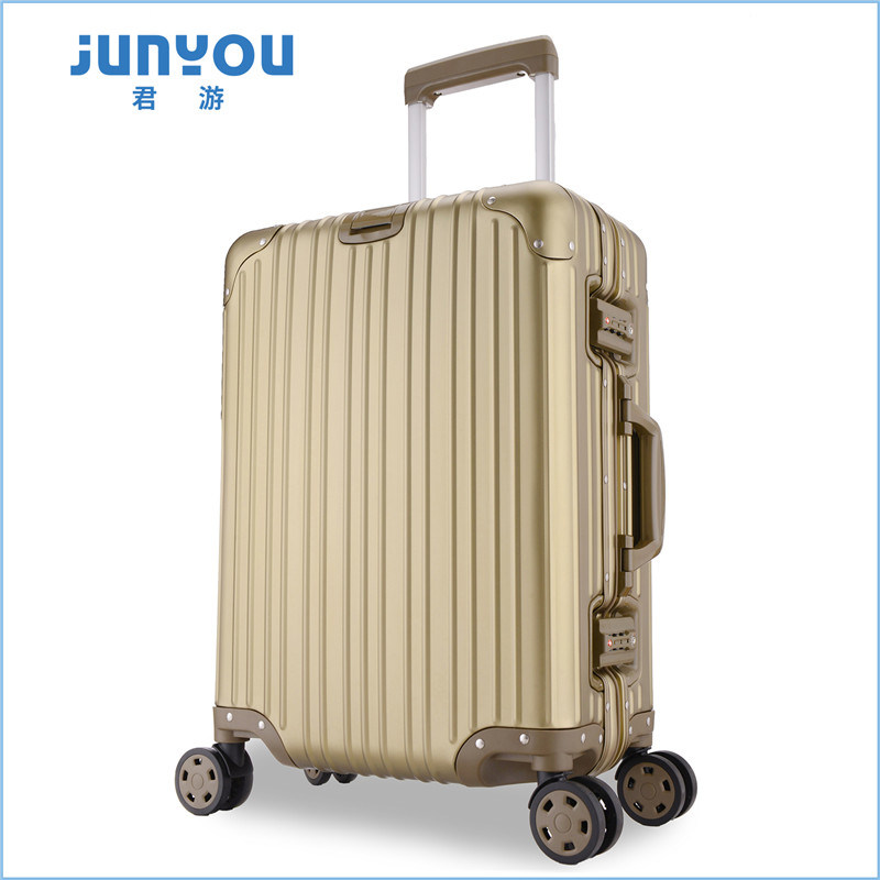Top Quality Hardshell 20′′ All Aluminum Frame Luggage