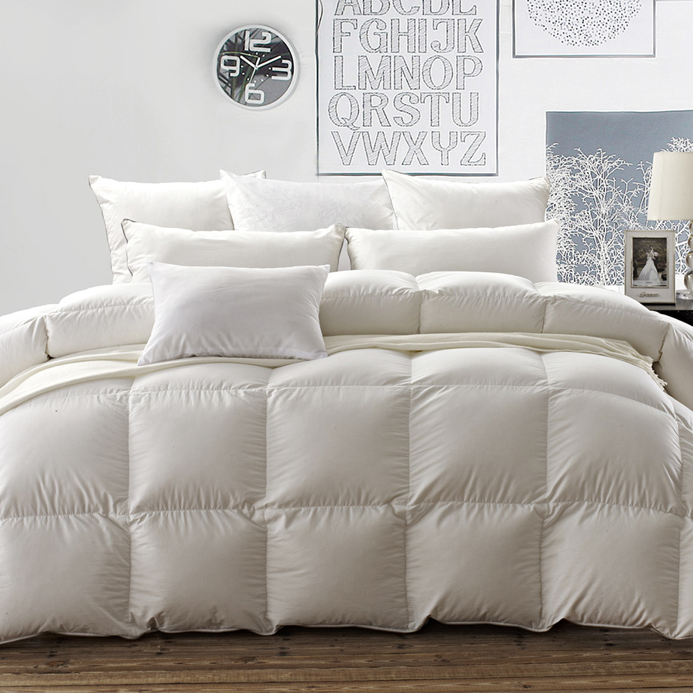 100% Goose Down Filling Cotton Cover Quilt for 5 Starts Hotel