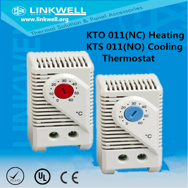 Small Kto Kts No Nc Temperature Switch Thermostat for Panel Board (KTS 011)